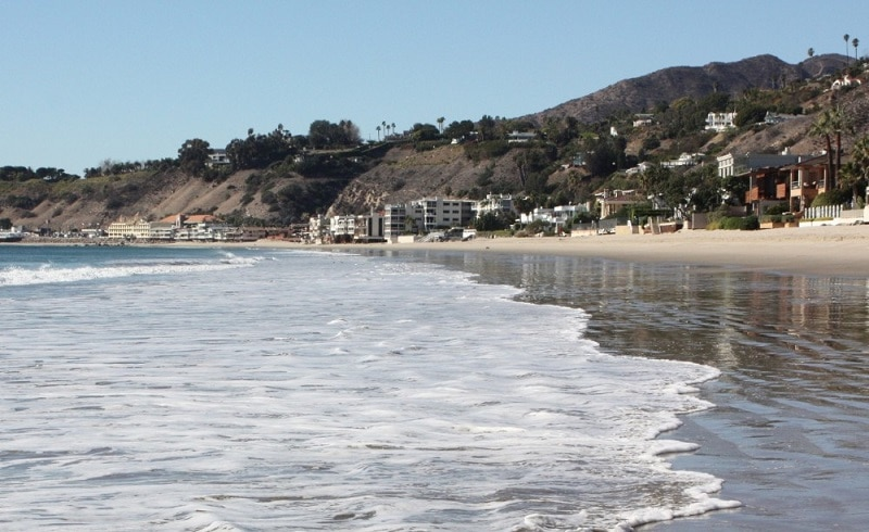 Carbon Beach Los Angeles