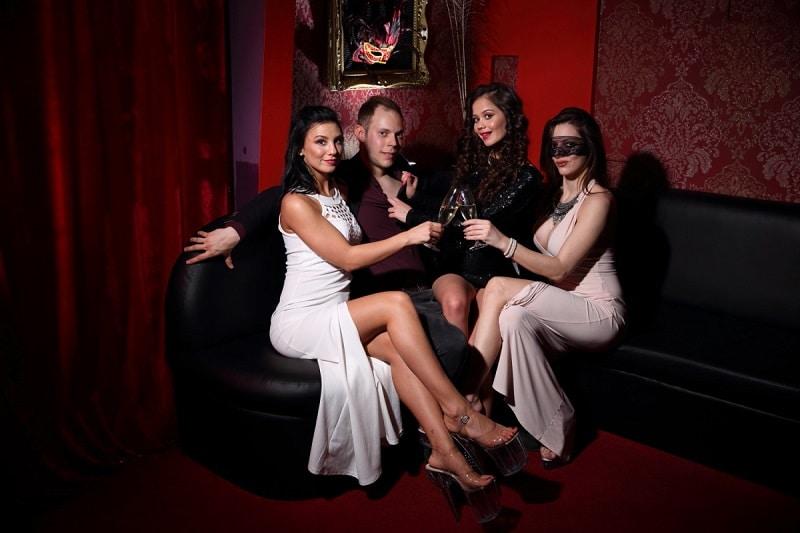 strip club Hungary sexy dancer nightlife parties