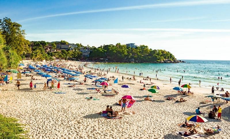 Phuket Kata beach couples singles