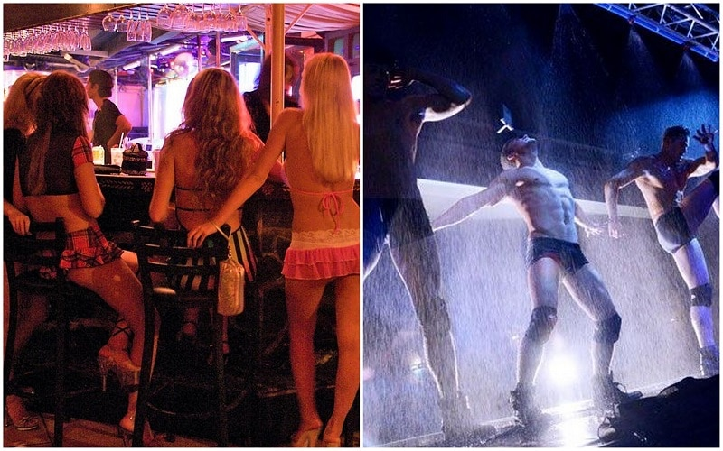 London strip clubs for men and girls