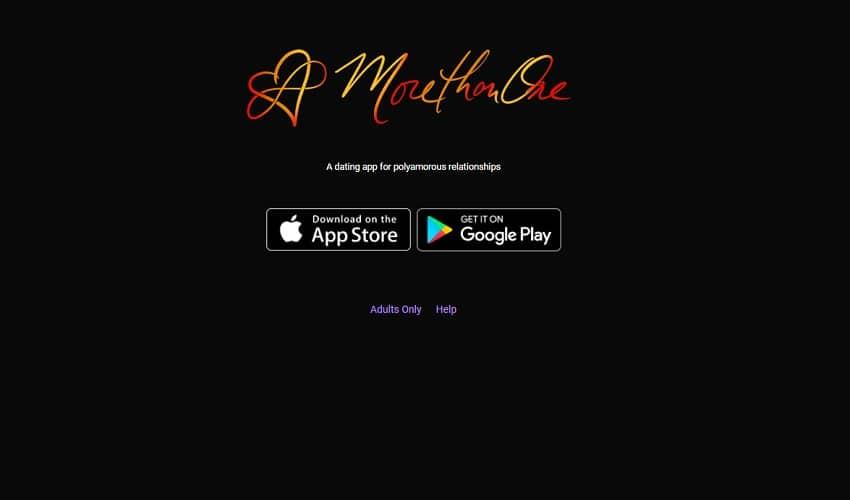MoreThanOne polyamorous app
