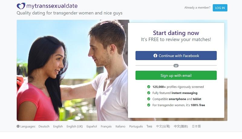 best dating site transsexual women