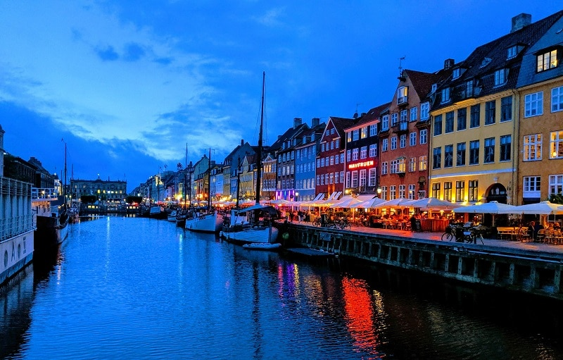 Night Copenhagen getting laid