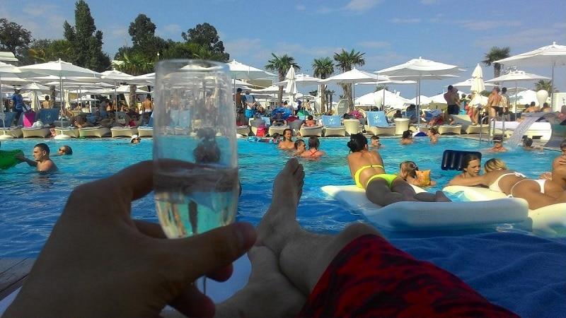 Odessa pool party Ibiza beach Club