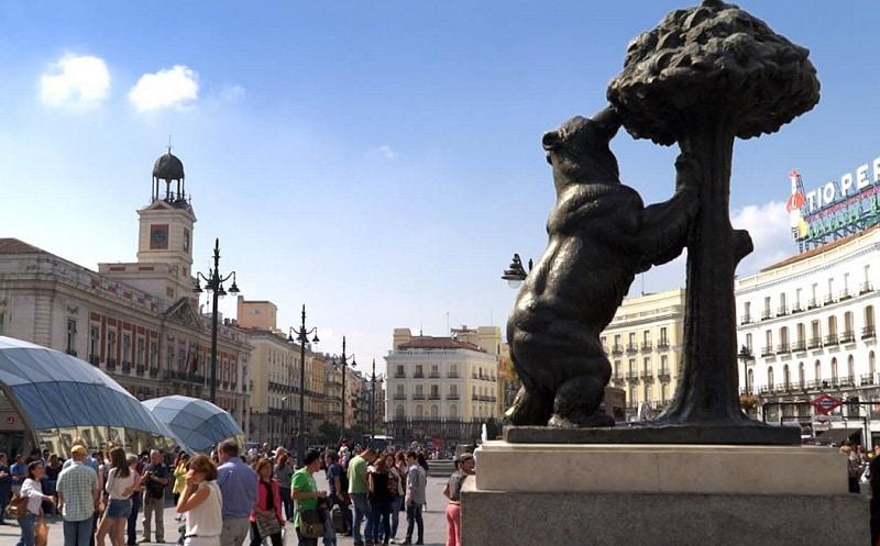 Puerto Del Sol Madrid