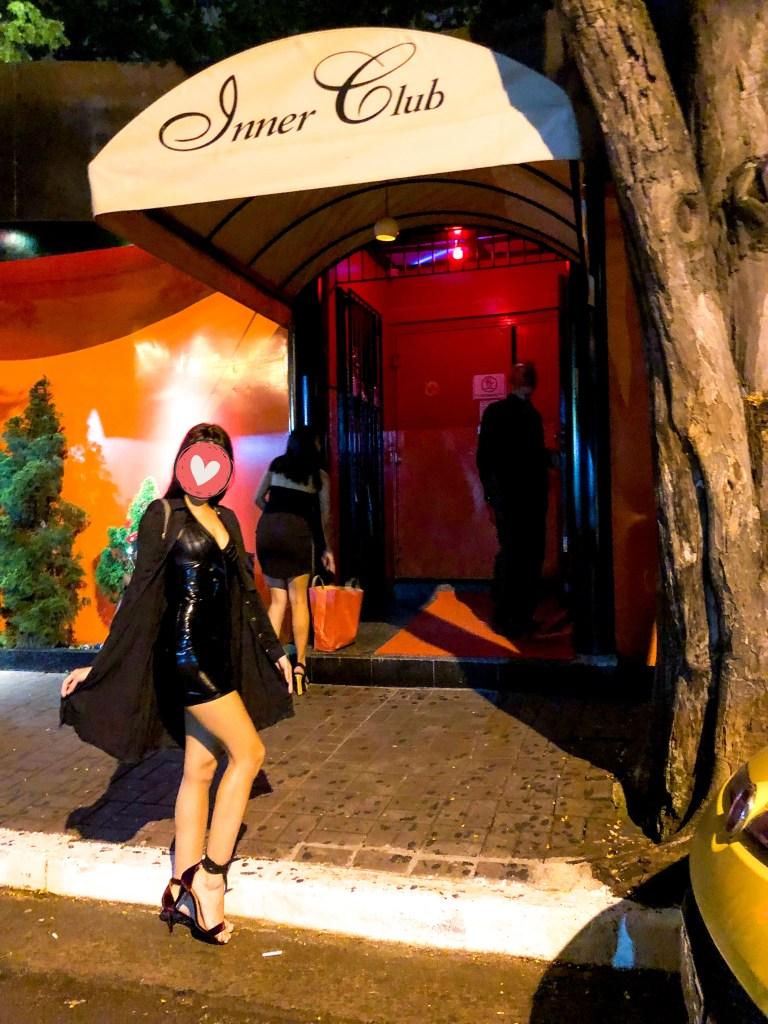Sao Paulo swinger front club night