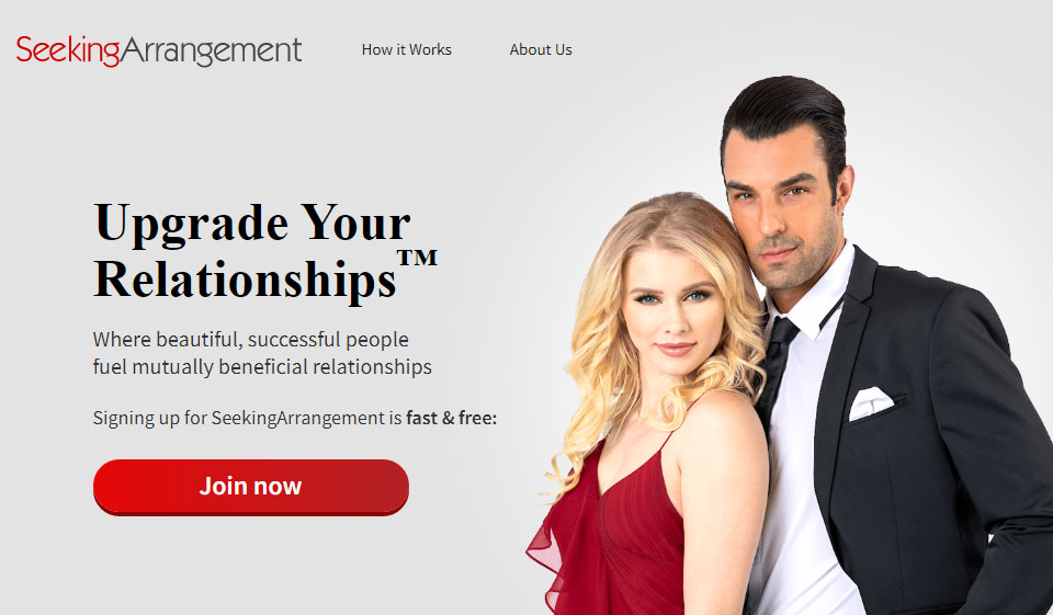 Seeking Arrangement adult dating site