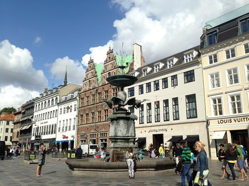Copenhagen hook up place Stork Fountain