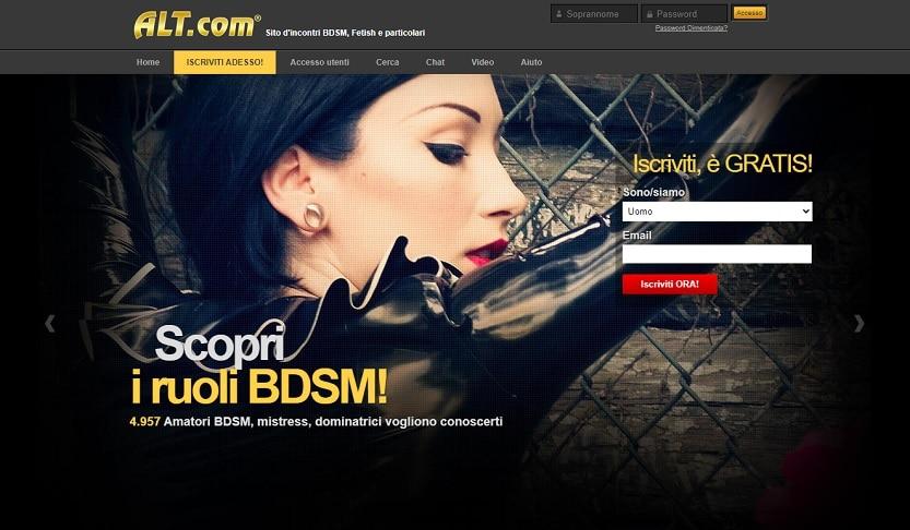 BDSM adult dating site
