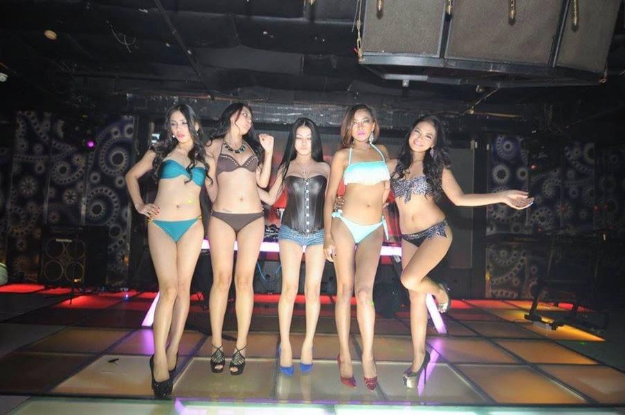 Jakarta strippers dancing bikini bar