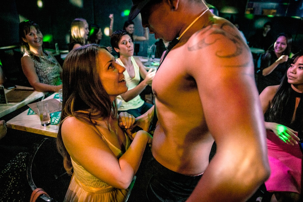 horny girl in a strip club in Auckland
